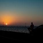 Flevolandschap en mooie zonsondergangen in week 22