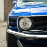 Muscle car in the spotlight !