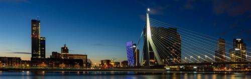 Panorama Rotterdam Kop van Zuid
